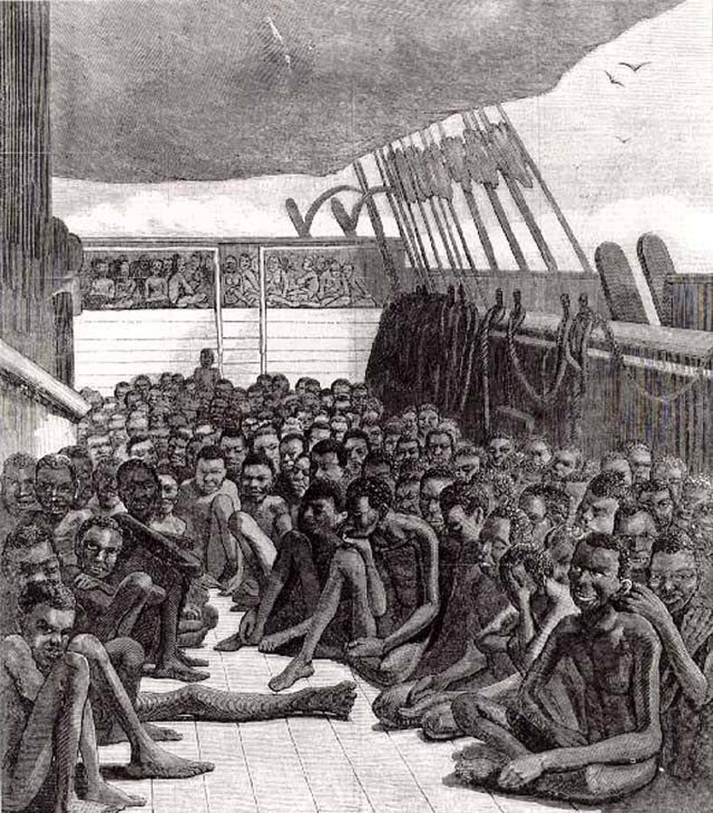 a history of the middle passage and the horrifying conditions of the life of african slaves African slaves from africa to the americas, a journey called the middle passage africa had its own tradition of slavery when european sailors first began to explore its coast in the late 1400s.