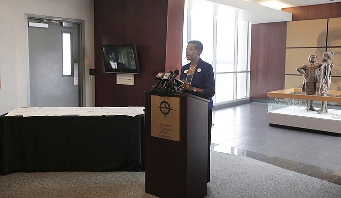 JMAA Chair Dr. Rosie Pridgen explains that the change in FAA policy means that the fight for the airport will be in court, not in the hands of federal administrators.