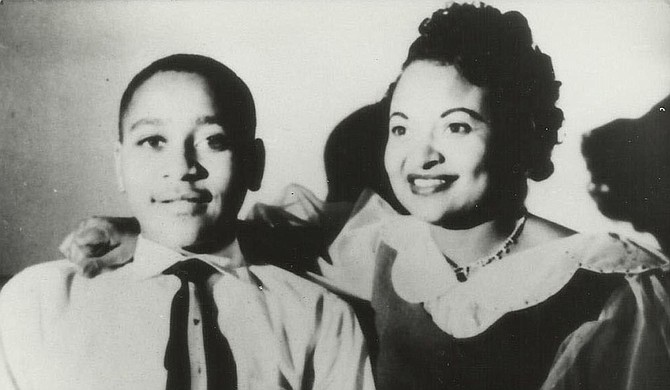 White men kidnapped and brutally murdered Emmett Till (left), pictured with his mother Mamie Mobley-Till, on this day 62 years ago. His lynching and the murderers' acquittal spurred the Civil Rights Movement in the South and nationwide. Photo courtesy Simeon Wright