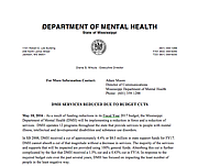 We Are In Crisis Mental Health Staff Services Reducing Due To