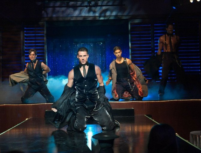 &quot;Magic Mike,&quot; loosely based on star Channing Tatum&#39;s own past, is as raunchy as expected, but also surprisingly thought-provoking.