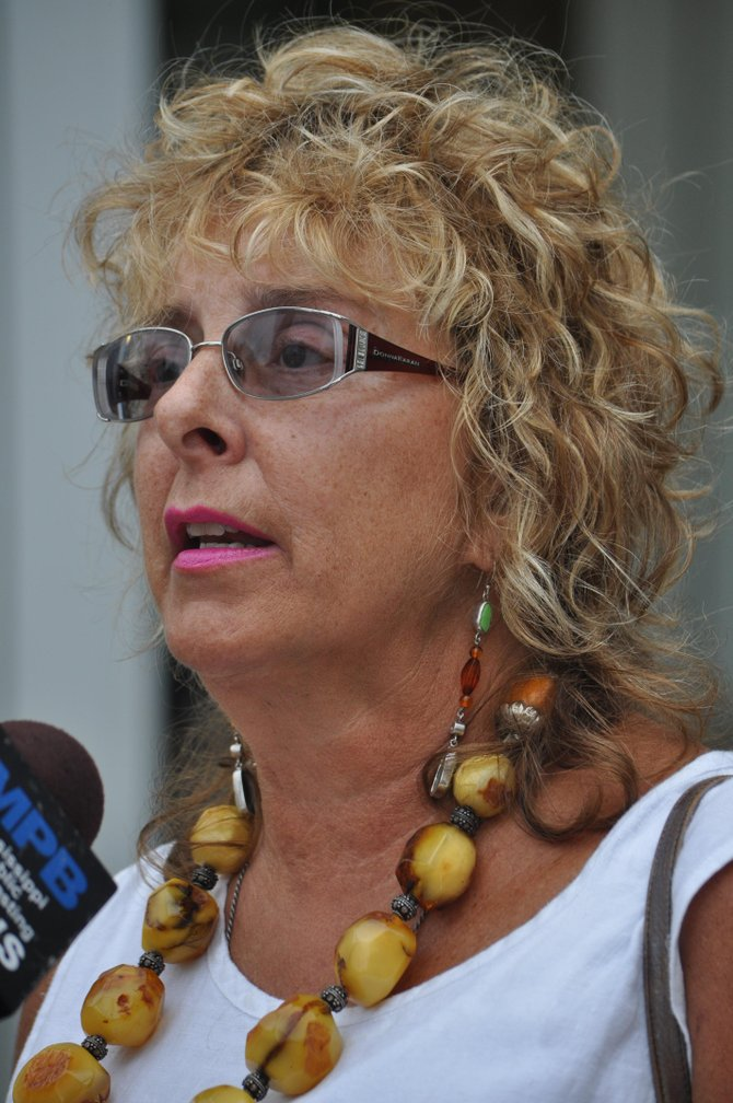 Diane Derzis, the owner of the clinic, speaks with MPB after the hearing.