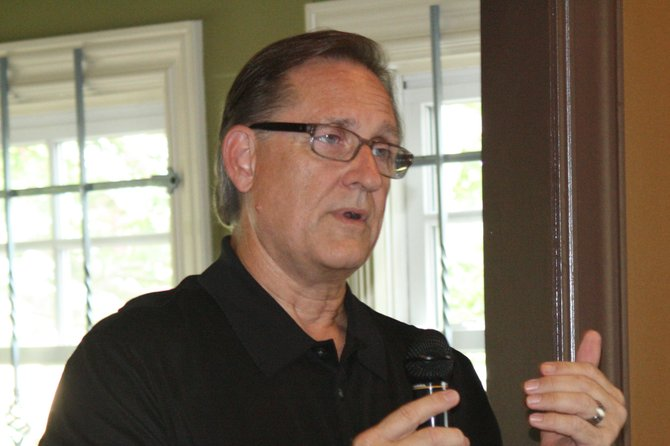 David Kelly, of Centre Consulting LTD, told concerned citizens at Koinonia Coffee House that their input will be valued during the entire process of a proposed 150-unit housing development.