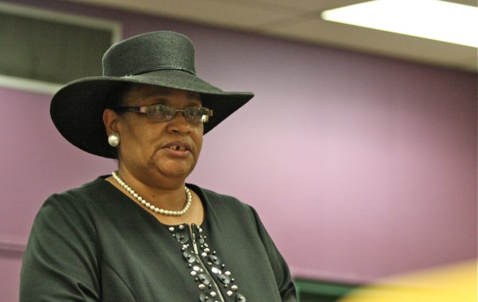 Ward 3 Councilwoman LaRita Cooper-Stokes said at a community meeting Thursday that the will of the people is for her to win the July 24 election and not continue to tie up the proceedings in court.