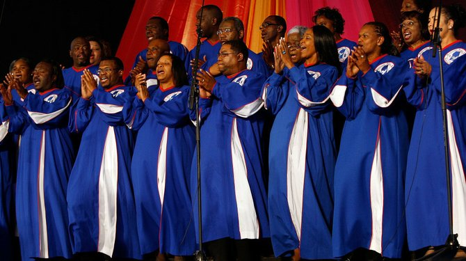 The Mississippi Mass Choir will perform at this year's 34th annual Gospel Music Awards on July 29.