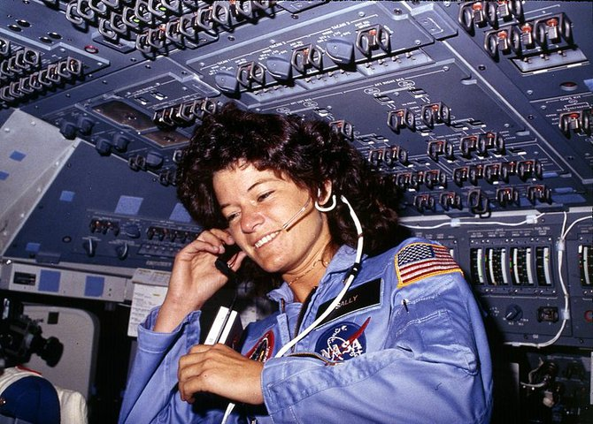 Astronaut Sally Ride co-wrote her own obituary with her partner of 27 years, Tam O'Shaughnessy.