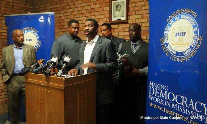 Derrick Johnson, president of the Mississippi NAACP called for a full investigation into the death of Jimmy Lee Butts.