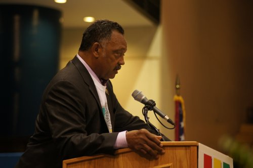 The Rev. Jesse Jackson in Jackson.
