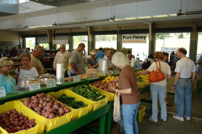The Mississippi Farmers Market (929 High St., 601-354-6573) is open every Saturday from 8 a.m. until 2 p.m.