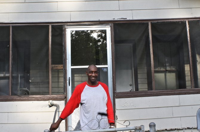 Raymond Quarles was arrested at least 10 times while he was living on the streets in Jackson. Now, he lives in this home in Vicksburg, where he ministers at local churches.