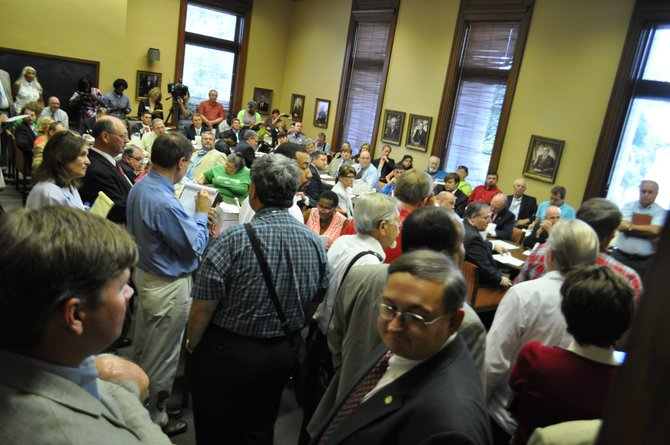 The Mississippi House Judiciary B Committee held a meeting on immigration yesterday at the state capital.