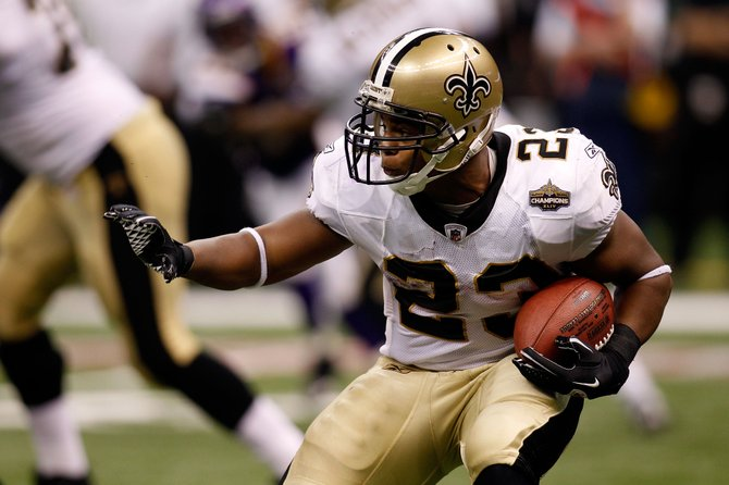 Running back Pierre Thomas, along with the rest of the Saints, hopes to take the Saints to a history-making Super Bowl in the Superdome this season.