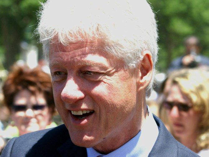 Former President Bill Clinton, 2004.