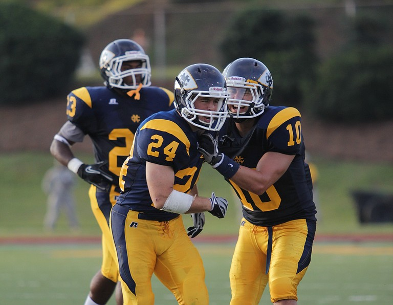 Keith Villafranco is a defensive back for Mississippi College.