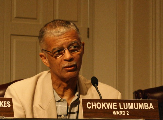 Ward 2 Jackson City Councilman Chokwe Lumumba.