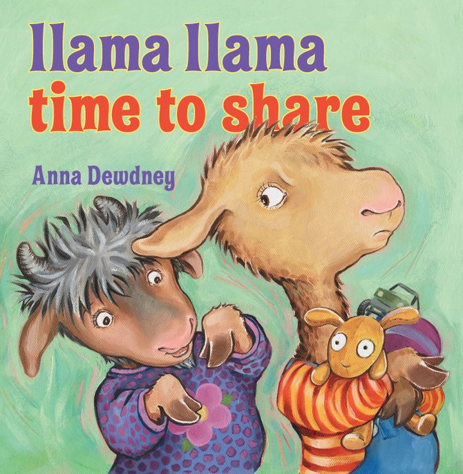 "Take your little ones to meet the original ""Mama Llama"" author Anna Dewdney, at Lemuria Sept. 24."