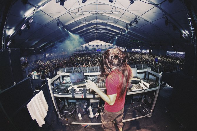 Electronic DJ Bassnectar will perform in Jackson Oct. 8.