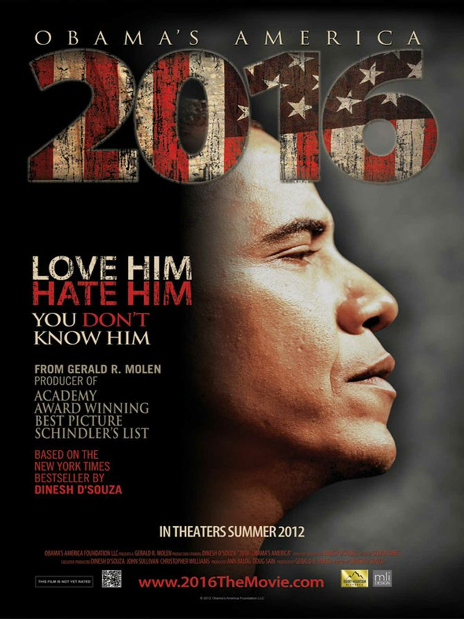 Dinesh D'Souza's documentary makes tenous connections between Obama and a myriad of global evils.