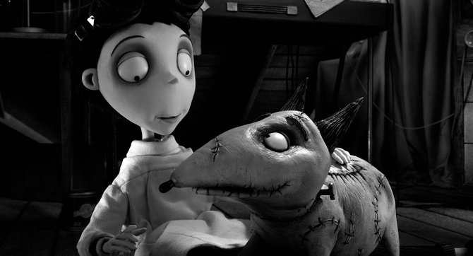"Tim Burton pays homage to classic monster films with ""Frankenweenie."""