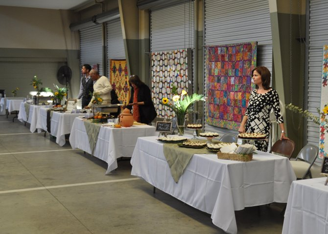 Yesterday, the Women's Fund of Mississippi hosted Forks and Corks, their second annual food-and-wine tasting fundraiser, at the Mississippi Farmers Market.