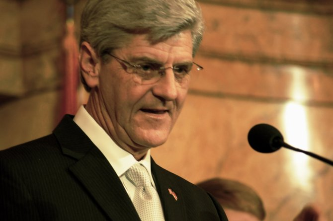 Gov. Phil Bryant would like to commoditize health care in the state.