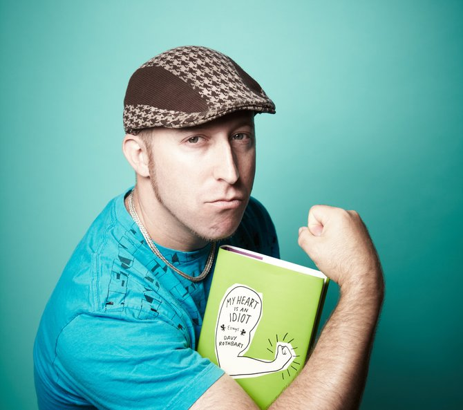 Davy Rothbart puts his heart out on his sleeve in his latest book of stories.