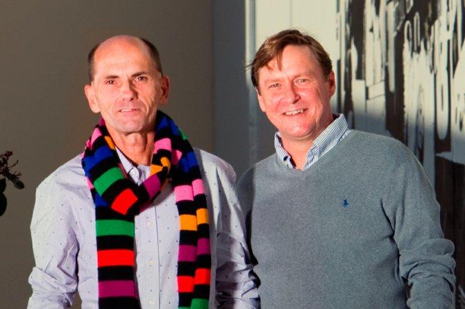 Larry Emmett (left) and Michael Parker (right)