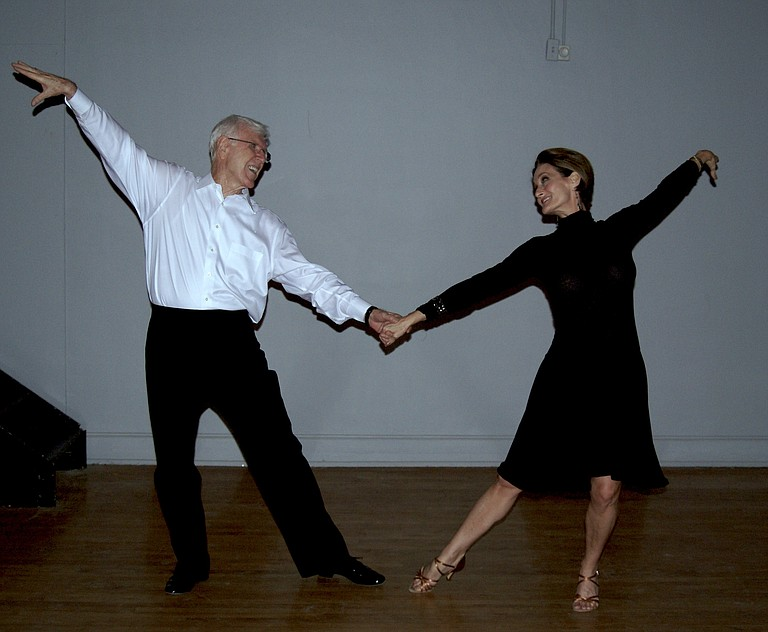 Ballroom dance is a relaxing, yet athletic, social activity.