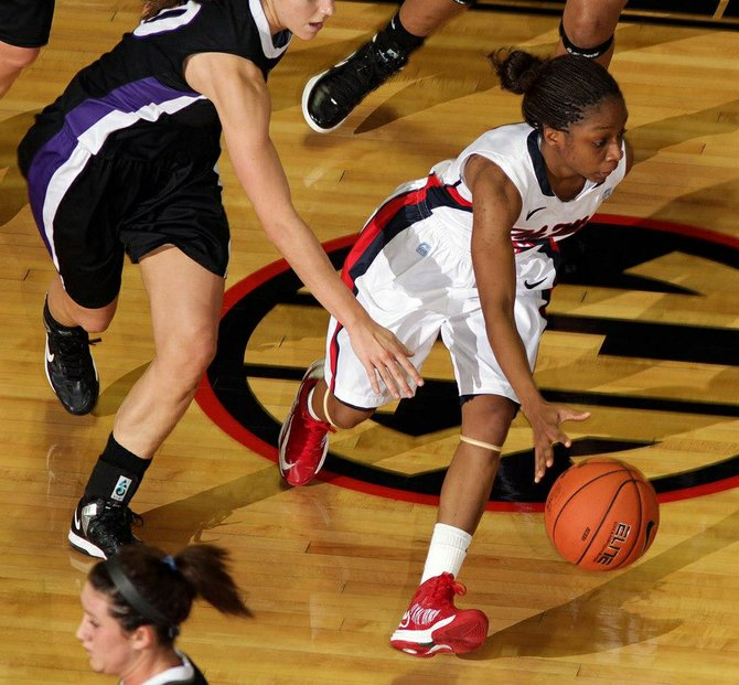 Raymond grad Valencia McFarland returns with the Lady Rebels this year.