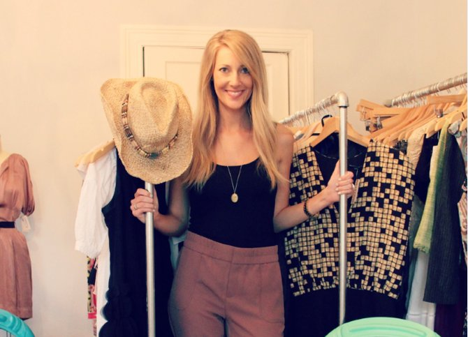 In her shop Fondren Muse, Mary Amelia McRee has found a way to indulge her love of fashion while helping rescue animals.