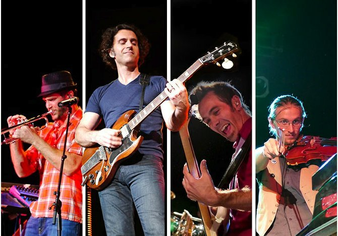 Dweezil Zappa performs his fathers legendary hits at Duling Hall Jan. 31.