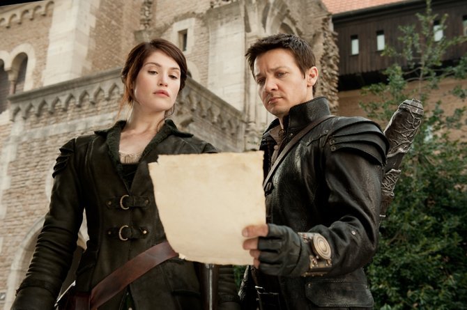 "Gemma Arterton and Jeremy Renner play the leads in ""Hansel & Gretel: Witch Hunters."""