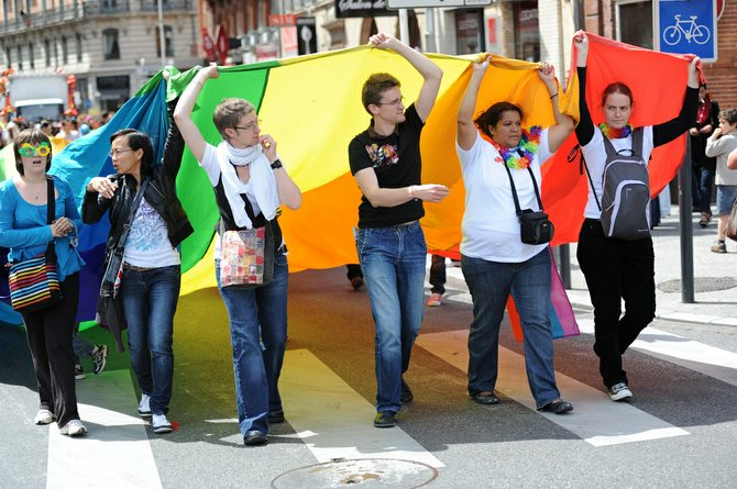 Jacksonians will run, walk and probably dance through the streets celebrating gay pride Saturday, March 2.