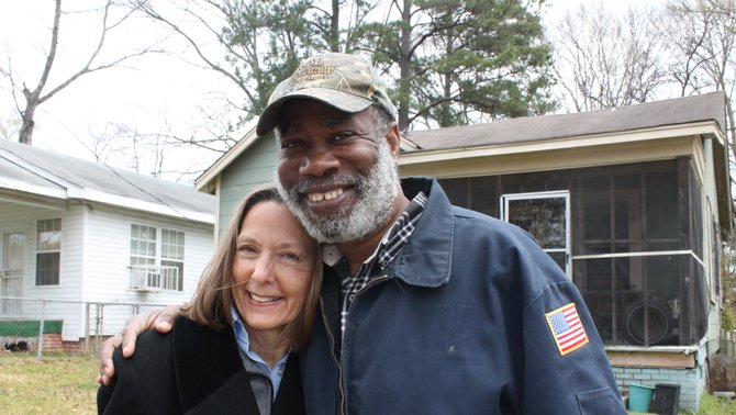 Cindy Griffin (left) and Robert Williams (right)