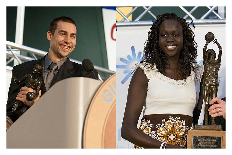 Marshall Henderson (left) and Martha Alwal (right)