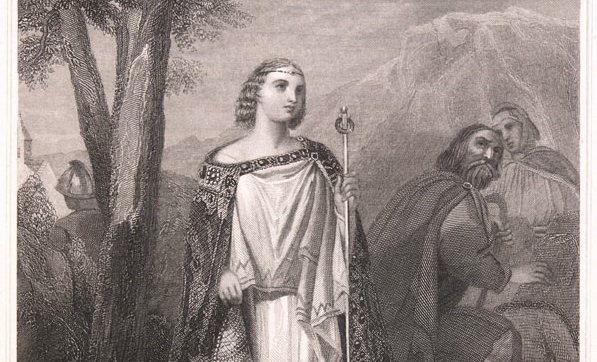 Aoife is one of several female Irish warriors whose names are popular today.