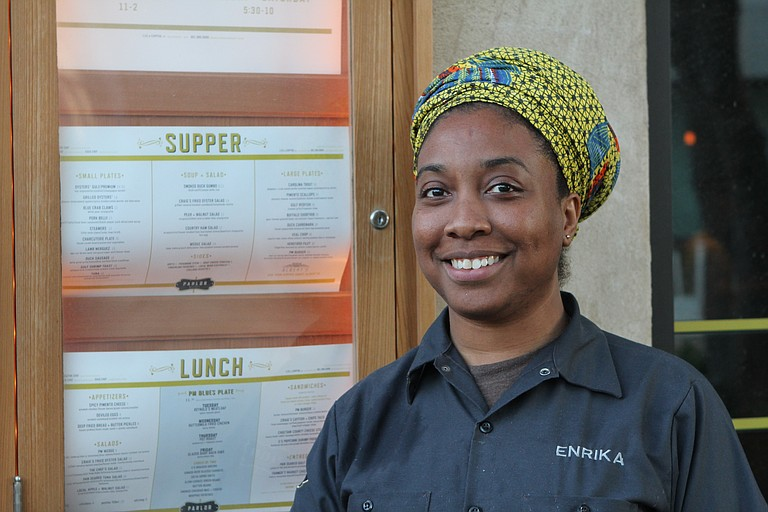 Enrika Williams is one of many female chefs on the rise in Jackson.