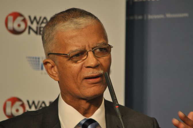 Chokwe Lumumba at the MC Law debate -- May 17, 2013.