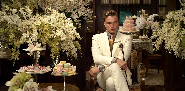 "Baz Luhrmann's spectacle overwhelms the story in his adaptation of ""The Great Gatsby,"" starring Leonardo DiCaprio."