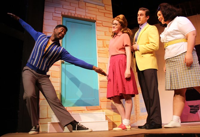 """Featuring Jacobi Hall as Seaweed, Jaclyn Bethany as Penny, Regan McLellan as Link and Hayley Anna Norris as Tracy, the cast is what makes """"Hairspray"""" shine at New Stage Theatre."""
