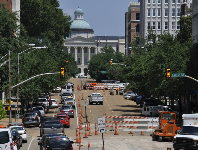 Capitol Street is getting a facelift, but detractors say the project may not have the desired effect of higher commercial traffic.