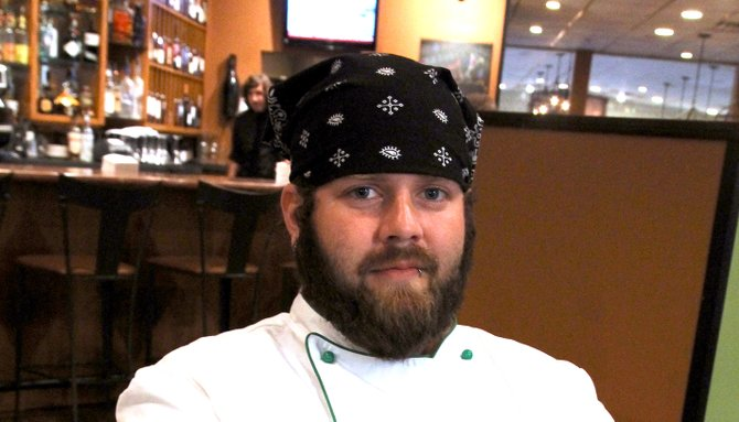Matt Mabry is bringing vegan fare to Jackson's fine-dining community.