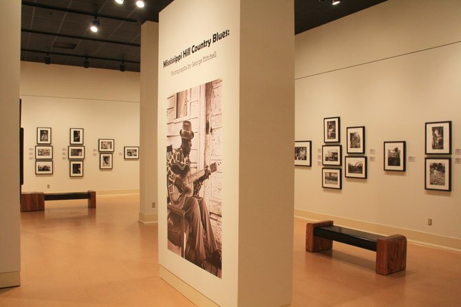 The Mississippi Museum of Art is showing many of George Mitchell's historic photos in a special exhibit.