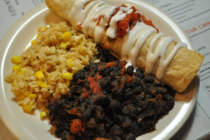 High Noon Cafe's vegetarian dishes can be treats for anyone.