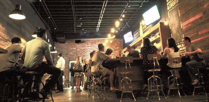 The owners of Fondren Public spent much of the summer renovating the space to a hip, inviting atmosphere, complete with an outdoor space and games such as bocce ball and shuffleboard.