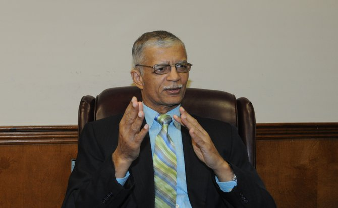 Jackson Mayor Chokwe Lumumba is against a state-mandated commission to oversee disbursement of funds from the proposed 1-percent sales tax.
