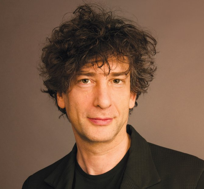 Science-fiction writer Neil Gaiman wants Halloween to also be a book- giving holiday.
