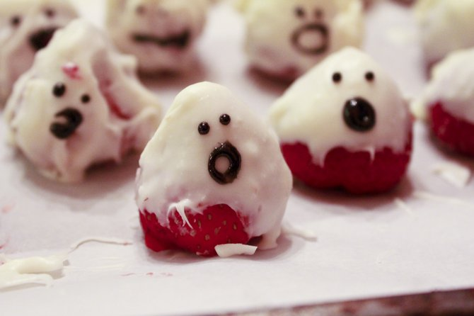 With a little imagination and elbow grease, you can make spooky and fun Halloween treats.