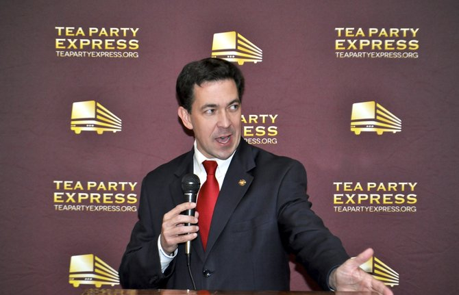 The Tea Party Express came to Jackson Nov. 5 to endorse Chris McDaniel to defeat U.S. Sen. Thad Cochran.