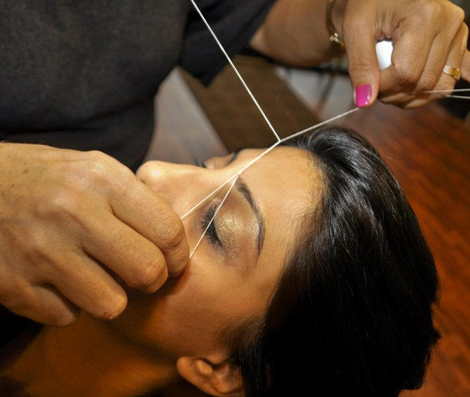 When it comes to hair removal, threading is less damaging to skin than procedures such as waxing.